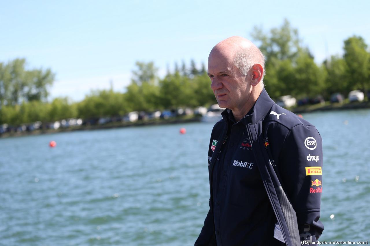 GP CANADA, 10.06.2018- Adrian Newey (GBR), Red Bull Racing Technical Operations Director