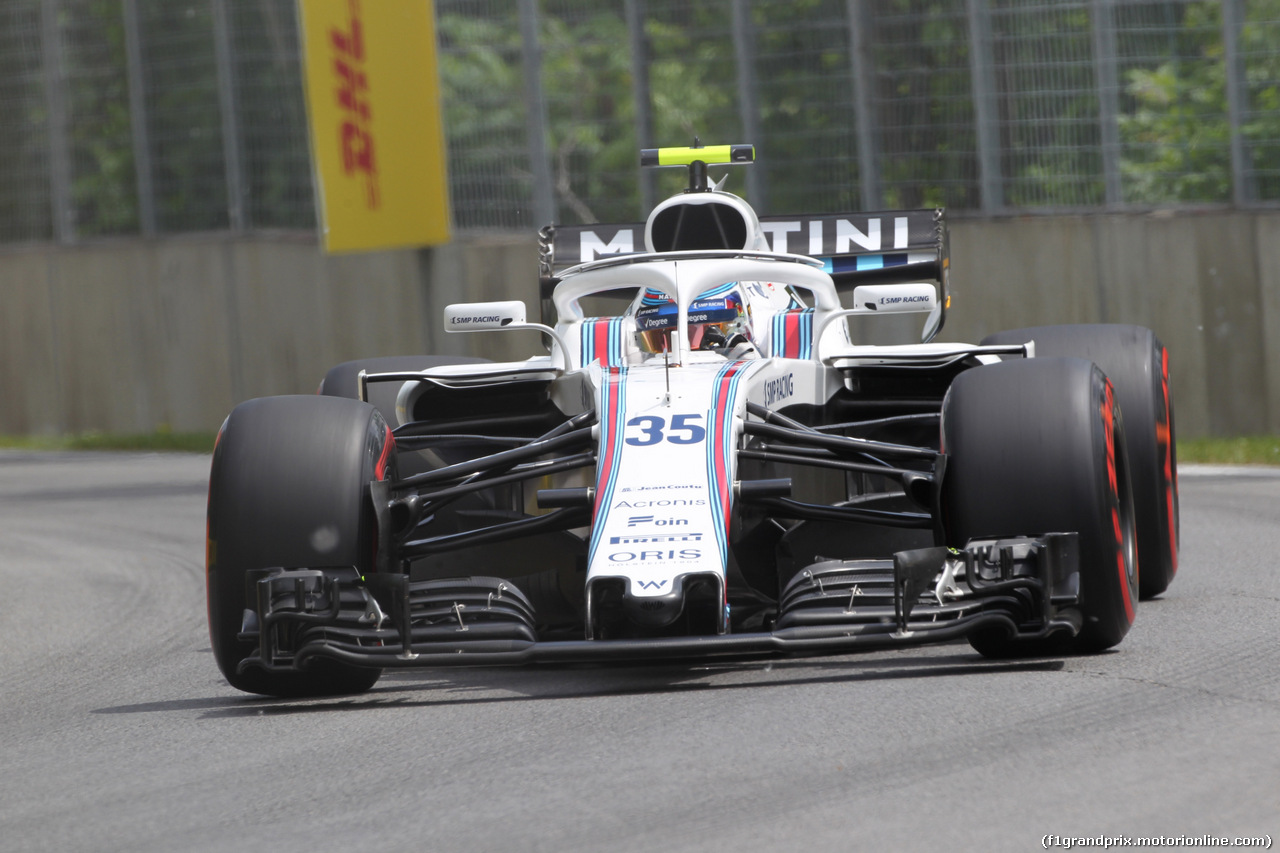 GP CANADA, 10.06.2018- Gara, Sergej Sirotkin (RUS) Williams F1 Team FW41