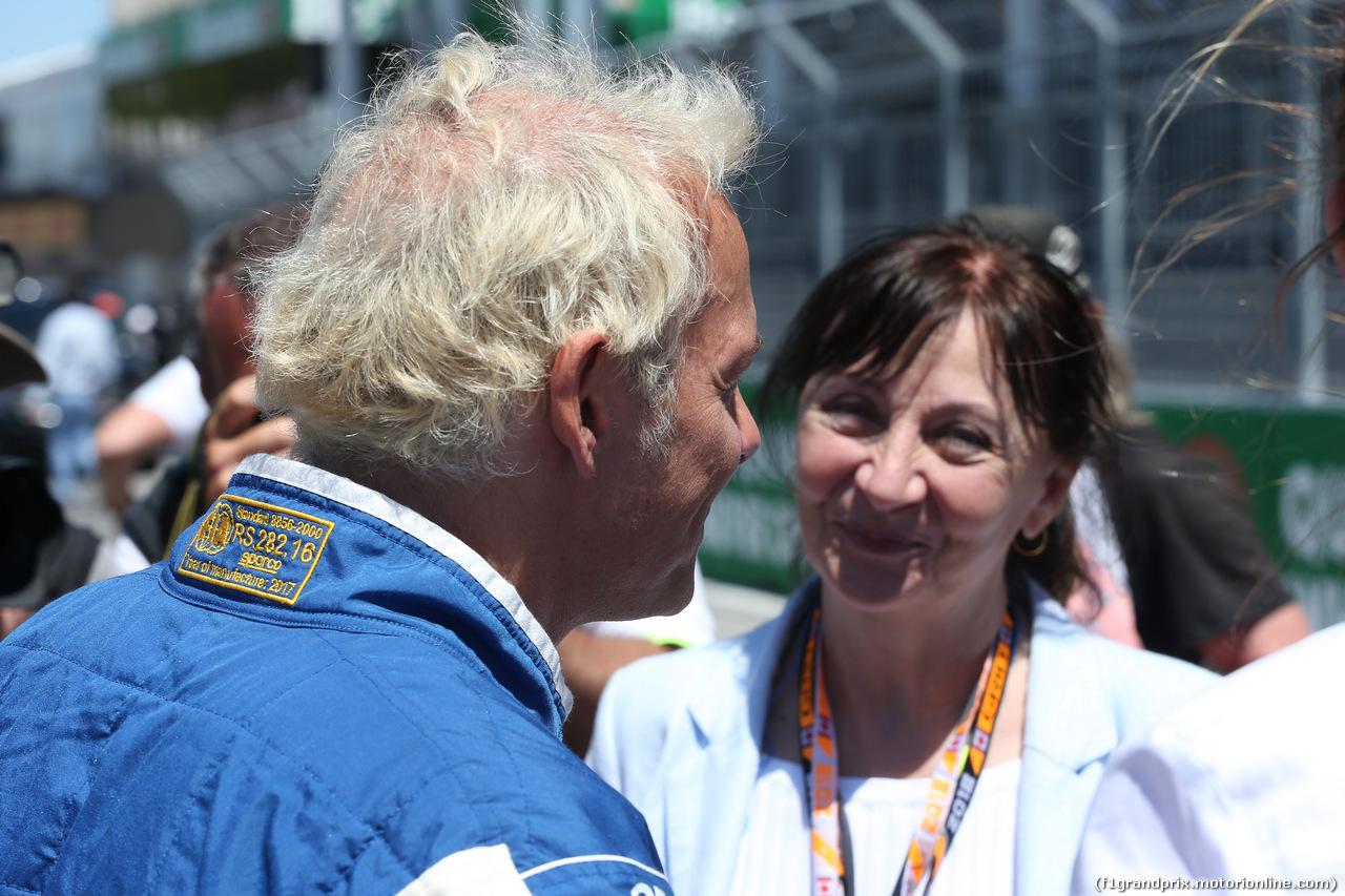 GP CANADA, 10.06.2018- Jacques Villeneuve (CDN) with his mother Joann