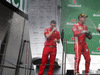 GP CANADA, 10.06.2018- Podium, winner Sebastian Vettel (GER) Ferrari SF71H with Ferrari Team Representative