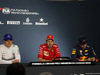 GP CANADA, 10.06.2018- After Gara Official Fia press conference, L to R Valtteri Bottas (FIN) Mercedes AMG F1 W09, Sebastian Vettel (GER) Ferrari SF71H, Max Verstappen (NED) Red Bull Racing RB14