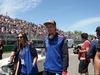 GP CANADA, 10.06.2018- driver parade, Brendon Hartley (FRA) Scuderia Toro Rosso STR13