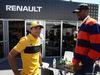 GP CANADA, 10.06.2018- Carlos Sainz Jr (ESP) Renault Sport F1 Team with Serge Ibaka (COG) NBA Basketball Player.
