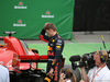 GP CANADA, 10.06.2018- Gara, Max Verstappen (NED) Red Bull Racing RB14 looks at Ferrari SF71H in Parc ferme