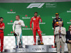 GP CANADA, 10.06.2018- Podium, winner Sebastian Vettel (GER) Ferrari SF71H, 2nd place Valtteri Bottas (FIN) Mercedes AMG F1 W09, 3rd place Lewis Hamilton (GBR) Mercedes AMG F1 W09