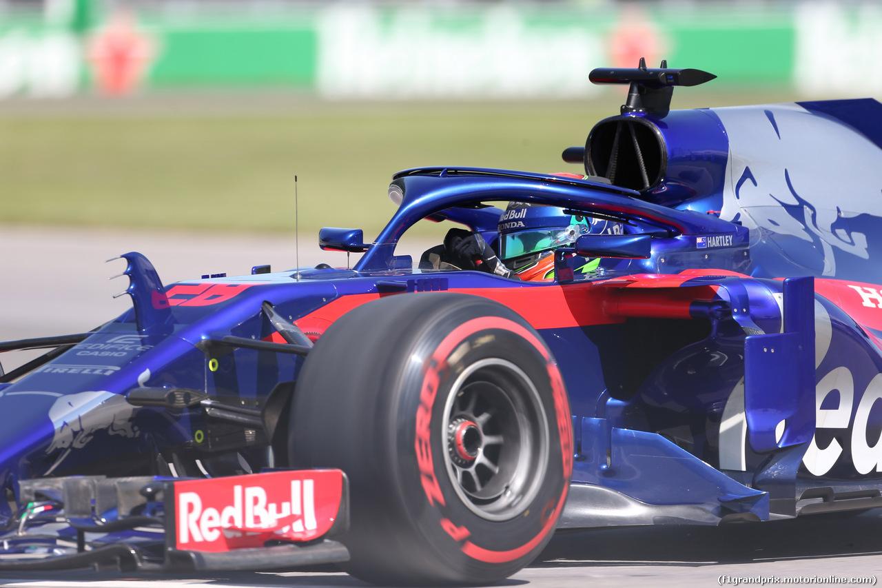 GP CANADA, 08.06.2018- free Practice 1, Brendon Hartley (FRA) Scuderia Toro Rosso STR13