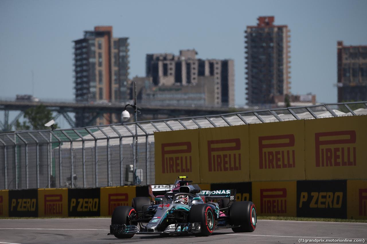 GP CANADA, 08.06.2018- free Practice 1, Lewis Hamilton (GBR) Mercedes AMG F1 W09