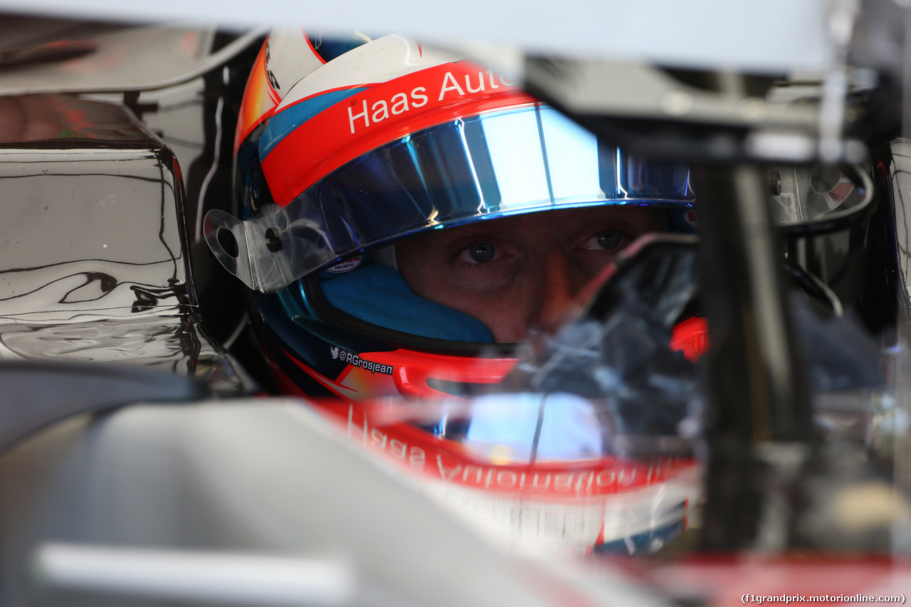 GP CANADA, 08.06.2018- free Practice 2, Romain Grosjean (FRA) Haas F1 Team VF-18