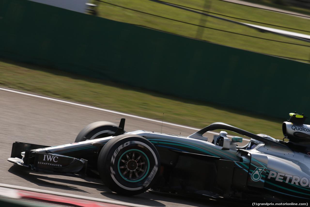 GP CINA, 15.04.2018- Gara, Valtteri Bottas (FIN) Mercedes AMG F1 W09