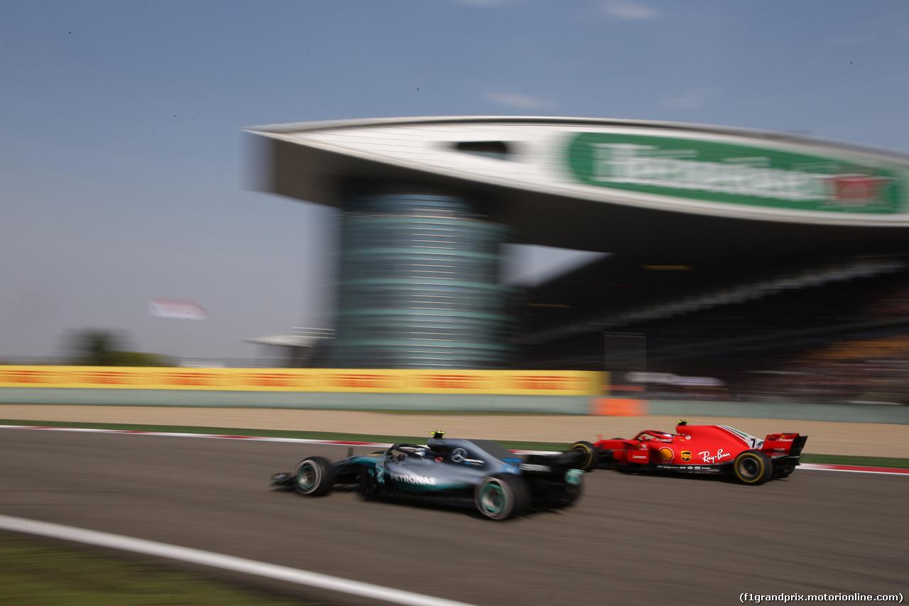 GP CINA, 15.04.2018- Gara, Kimi Raikkonen (FIN) Ferrari SF71H