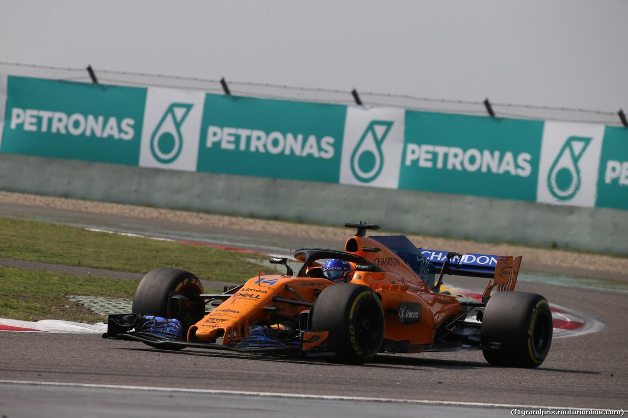 GP CINA, 15.04.2018- Gara, Fernando Alonso (ESP) McLaren Renault MCL33