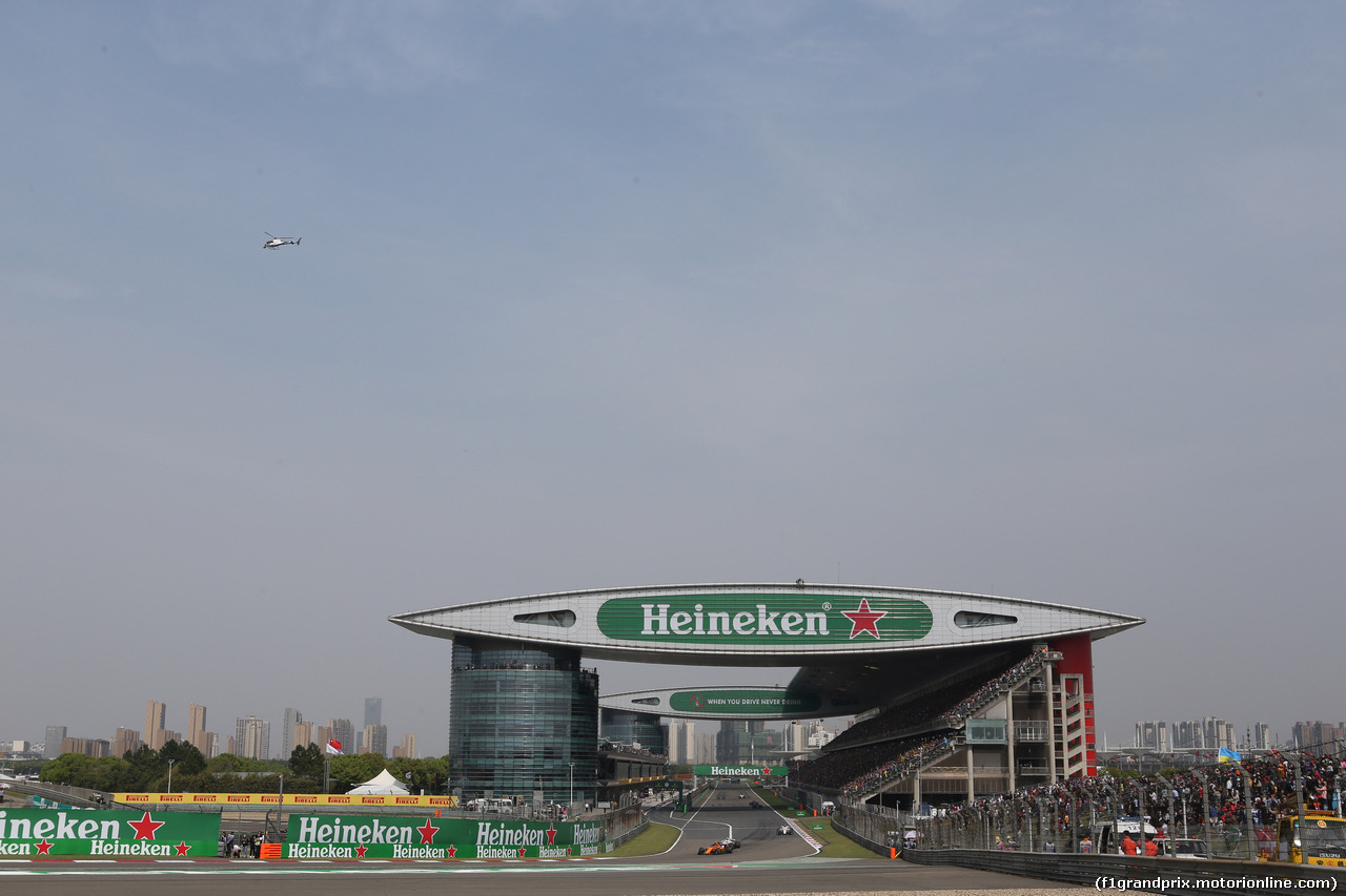 GP CINA, 15.04.2018- Gara, Stoffel Vandoorne (BEL) McLaren MCL33