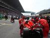 GP CINA, 15.04.2018- partenzaing grid, Kimi Raikkonen (FIN) Ferrari SF71H