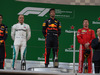 GP CINA, 15.04.2018- Podium,  winner Daniel Ricciardo (AUS) Red Bull Racing RB14, 2nd place Valtteri Bottas (FIN) Mercedes AMG F1 W09, 3rd place Kimi Raikkonen (FIN) Ferrari SF71H