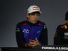 GP CINA, 12.04.2018- Giovedi' Press Conference, Pierre Gasly (FRA) Scuderia Toro Rosso STR13
