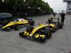 GP CINA, 12.04.2018- Old Renault F1 Cars