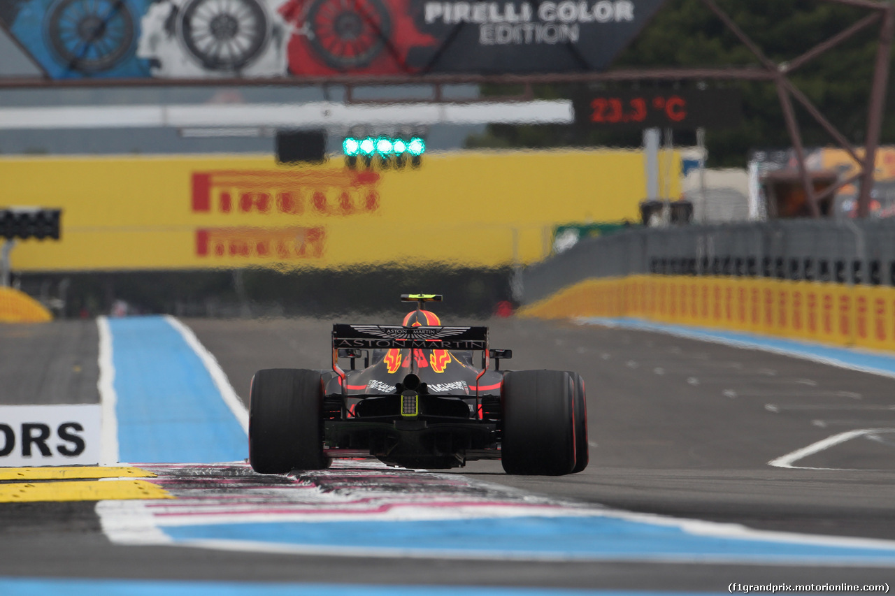 GP FRANCIA, 23.06.2018- Qualifiche, Max Verstappen (NED) Red Bull Racing RB14