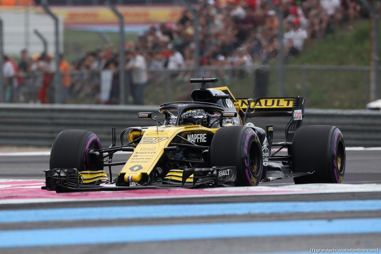 GP FRANCIA, 23.06.2018- Qualifiche, Nico Hulkenberg (GER) Renault Sport F1 Team RS18
