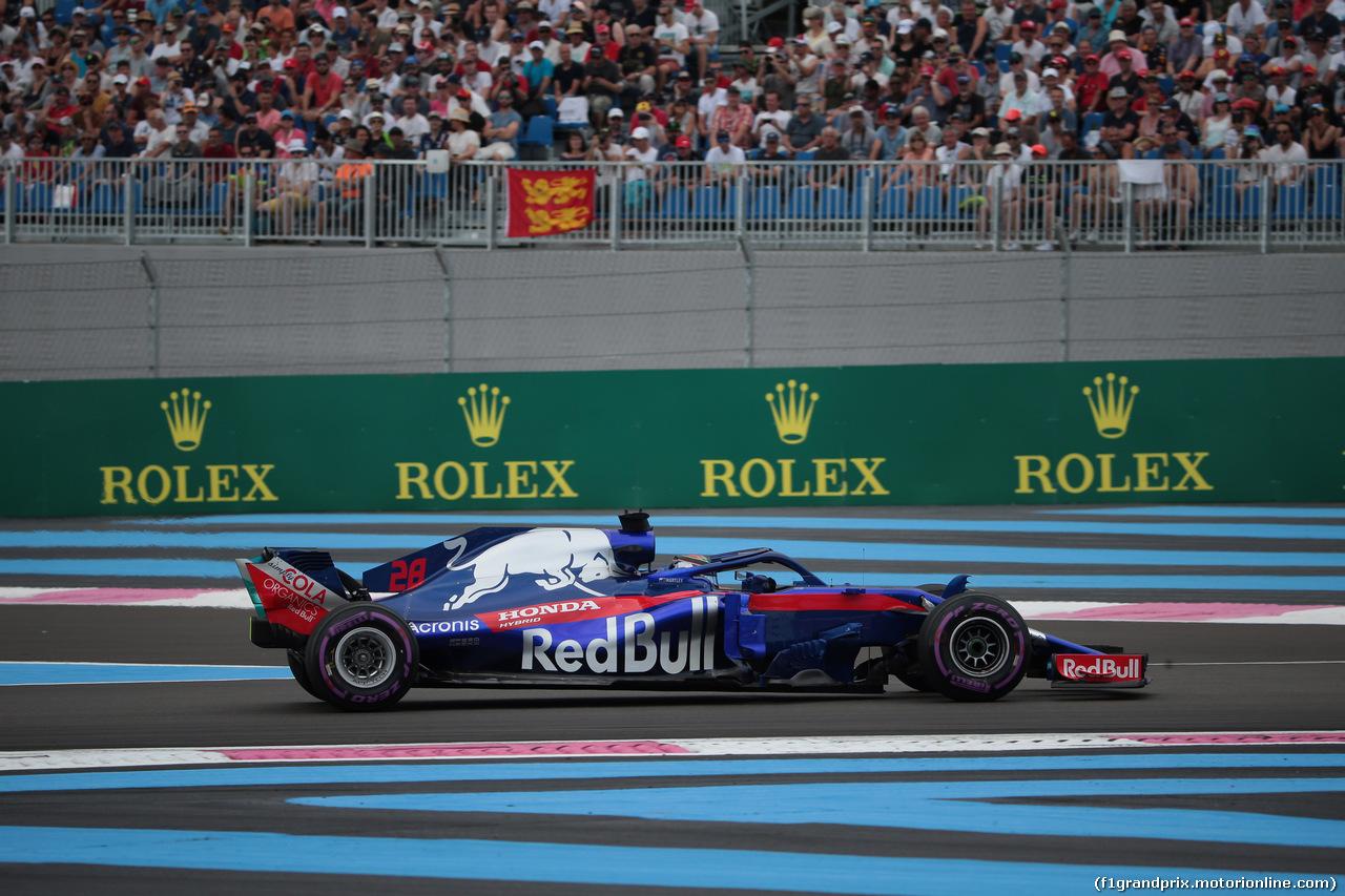 GP FRANCIA, 23.06.2018- Qualifiche, Brendon Hartley (FRA) Scuderia Toro Rosso STR13