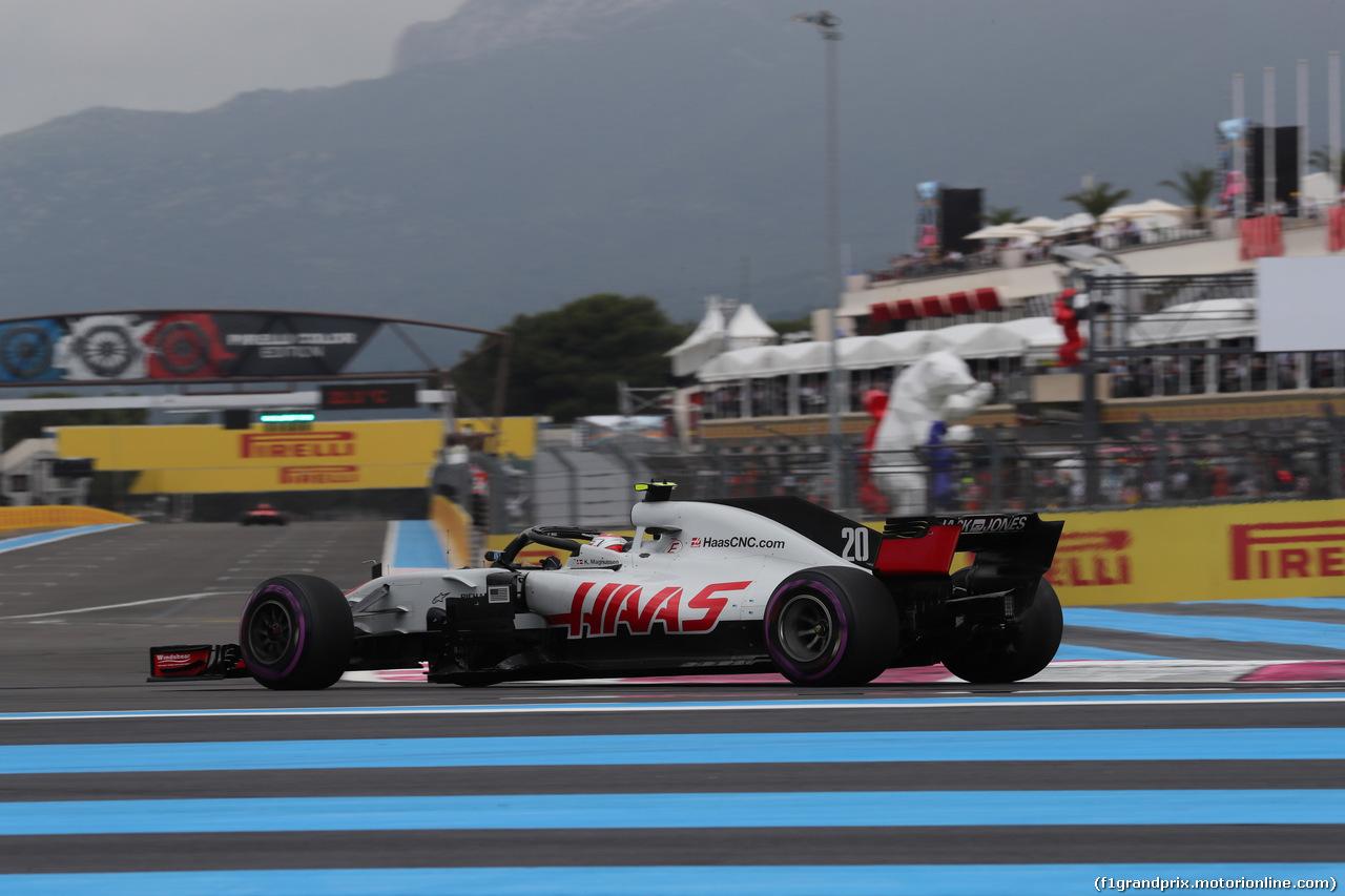 GP FRANCIA, 23.06.2018- Qualifiche, Kevin Magnussen (DEN) Haas F1 Team VF-18