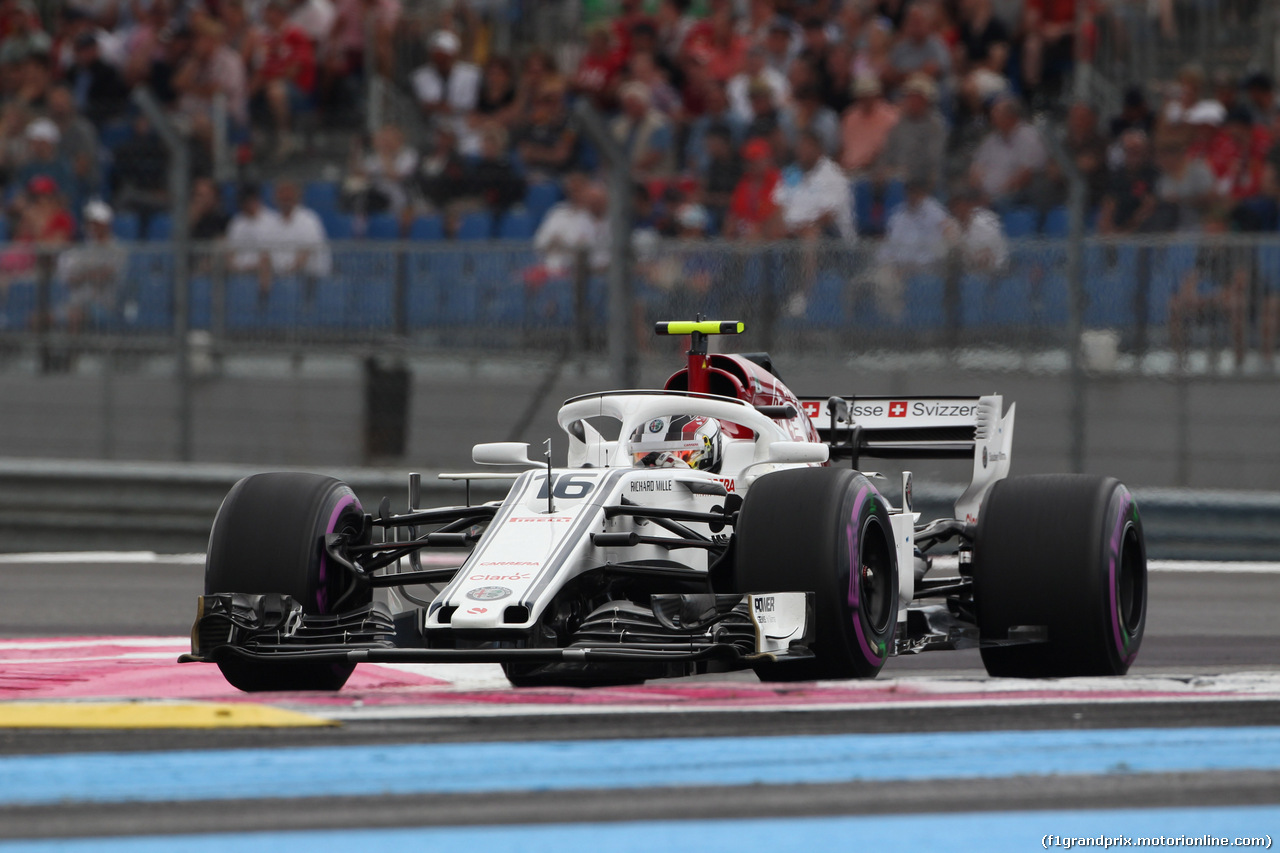 GP FRANCIA, 23.06.2018- Qualifiche, Charles Leclerc (GER) Alfa Romeo Sauber C37