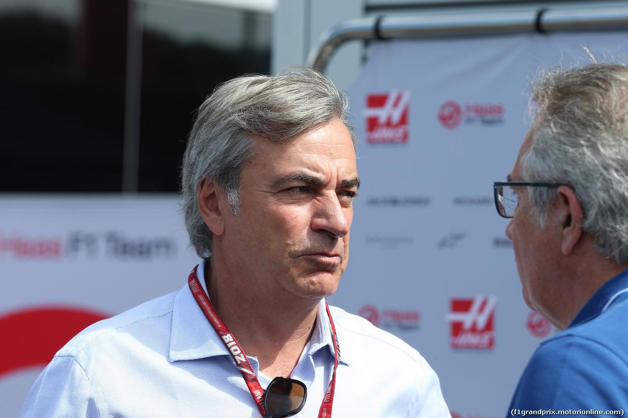 GP FRANCIA, 24.06.2018- Carlos Sainz Sr. (ESP) former WRC champion