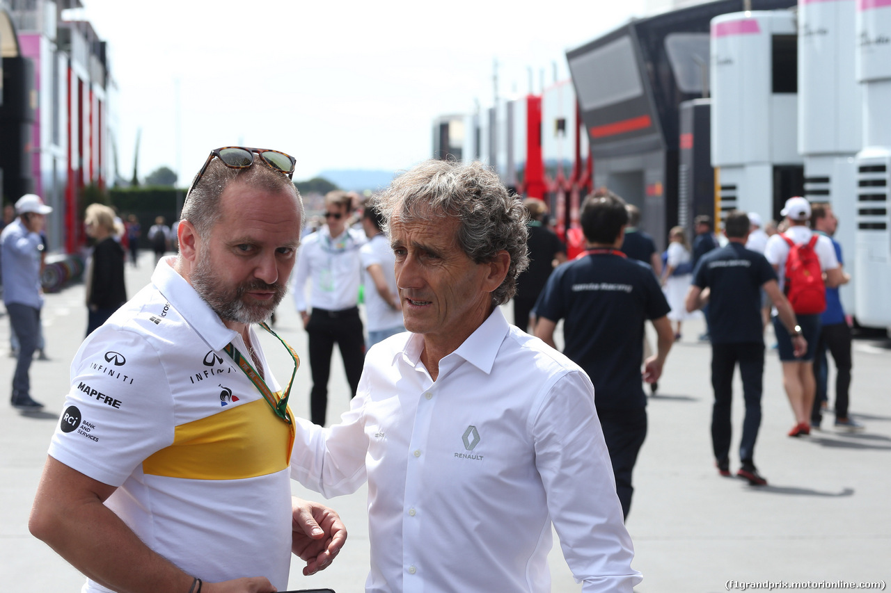 GP FRANCIA, 24.06.2018- Alain Prost (FRA) Renault Sport F1 Team Special Advisor