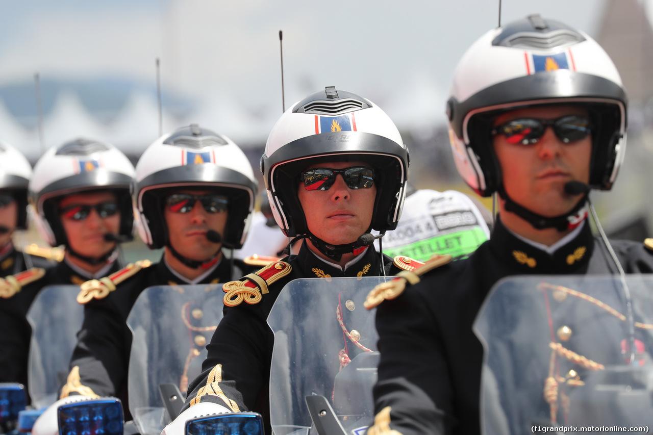 GP FRANCIA, 24.06.2018- Driver Parade