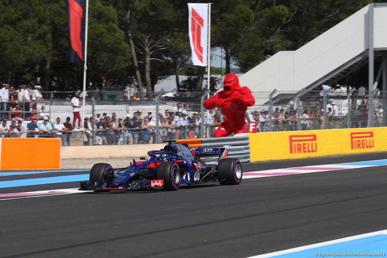 GP FRANCIA, 24.06.2018- Gara, Brendon Hartley (FRA) Scuderia Toro Rosso STR13