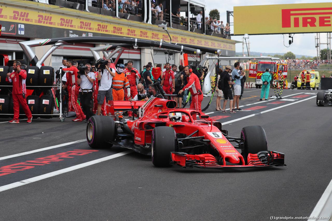 GP FRANCIA, 24.06.2018- Gara, Sebastian Vettel (GER) Ferrari SF71H