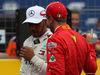 GP FRANCIA, 23.06.2018- Qualifiche, Sebastian Vettel (GER) Ferrari SF71H e Lewis Hamilton (GBR) Mercedes AMG F1 W09