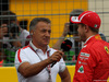 GP FRANCIA, 23.06.2018- Qualifiche, Sebastian Vettel (GER) Ferrari SF71H e Jean Alesi (FRA) Former F1 Driver