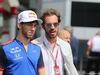 GP FRANCIA, 24.06.2018- Pierre Gasly (FRA) Scuderia Toro Rosso STR13 e Jean-Eric Vergne (FRA)