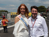 GP FRANCIA, 24.06.2018- Maeva Coucke (FRA) Miss France with  Christian Estrosi (FRA) Paul Ricard CEO
