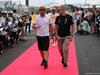 GP FRANCIA, 24.06.2018- Driver Parade, Fernando Alonso (ESP) McLaren Renault MCL33 e Valtteri Bottas (FIN) Mercedes AMG F1 W09