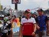 GP FRANCIA, 24.06.2018- Driver Parade, Marcus Ericsson (SUE) Alfa Romeo Sauber C37 e Brendon Hartley (FRA) Scuderia Toro Rosso STR13