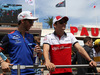 GP FRANCIA, 24.06.2018- Driver Parade,  Charles Leclerc (GER) Alfa Romeo Sauber C37 e Pierre Gasly (FRA) Scuderia Toro Rosso STR13