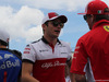 GP FRANCIA, 24.06.2018- Driver Parade, Charles Leclerc (GER) Alfa Romeo Sauber C37 e Kimi Raikkonen (FIN) Ferrari SF71H
