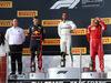 GP FRANCIA, 24.06.2018- podium, winner Lewis Hamilton (GBR) Mercedes AMG F1 W09 , 2nd place  Max Verstappen (NED) Red Bull Racing RB14 3rd place Kimi Raikkonen (FIN) Ferrari SF71H