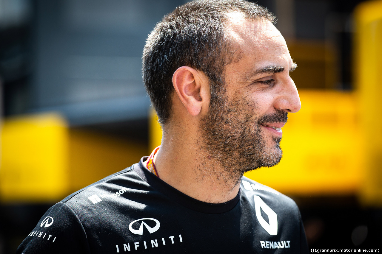 GP FRANCIA, 21.06.2018- Cyril Abiteboul (FRA) Renault Sport F1 Managing Director