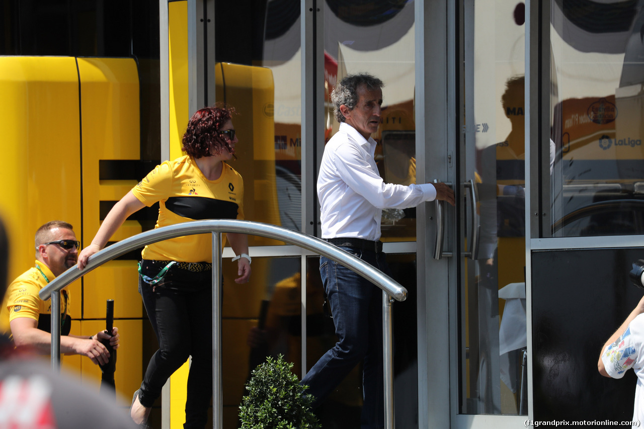 GP FRANCIA, 21.06.2018- Alain Prost (FRA) Renault Sport F1 Team Special Advisor