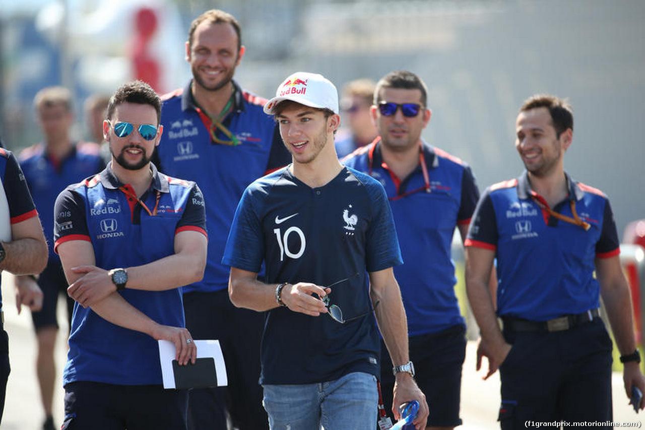 GP FRANCIA, 21.06.2018- Pierre Gasly (FRA) Scuderia Toro Rosso STR13