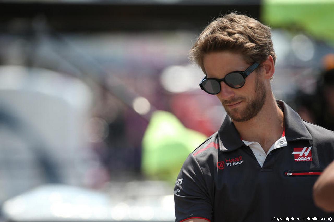 GP FRANCIA, 21.06.2018- Romain Grosjean (FRA) Haas F1 Team VF-18