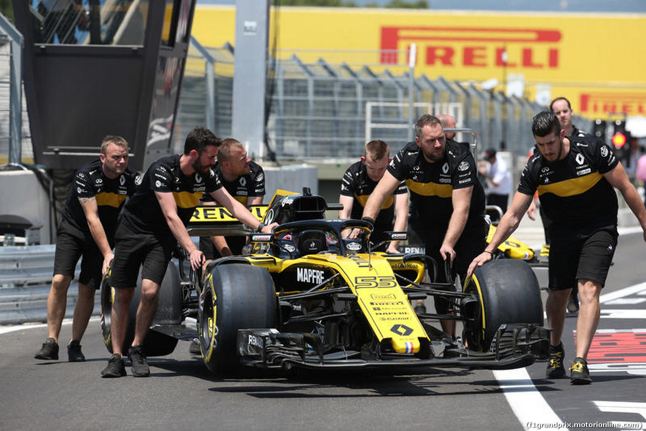 GP FRANCIA, 21.06.2018- Renault Sport F1 Team RS18