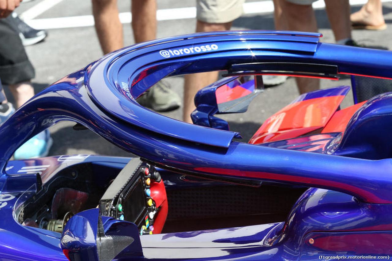 GP FRANCIA, 21.06.2018- Scuderia Toro Rosso STR13 halo