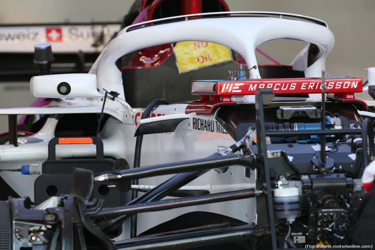 GP FRANCIA, 21.06.2018- Alfa Romeo Sauber F1 Team C37 Tech Detail