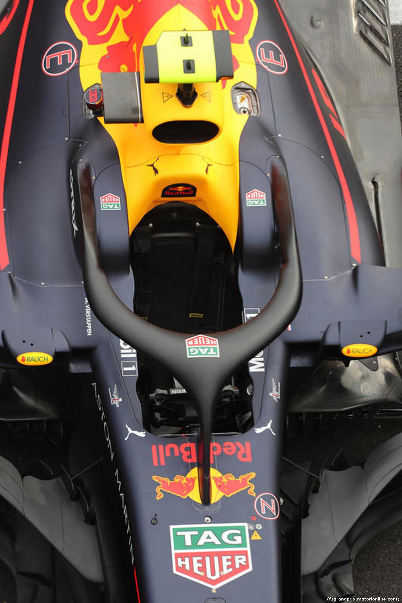 GP FRANCIA, 21.06.2018- Aston Martin Red Bull Racing RB14 halo