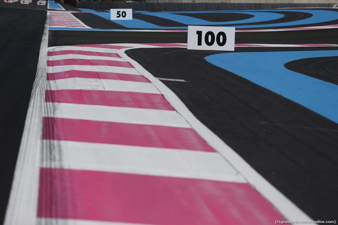 GP FRANCIA, 21.06.2018- Track details