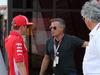 GP FRANCIA, 21.06.2018- Kimi Raikkonen (FIN) Ferrari SF71H e Jean Alesi (FRA) Former F1 Driver