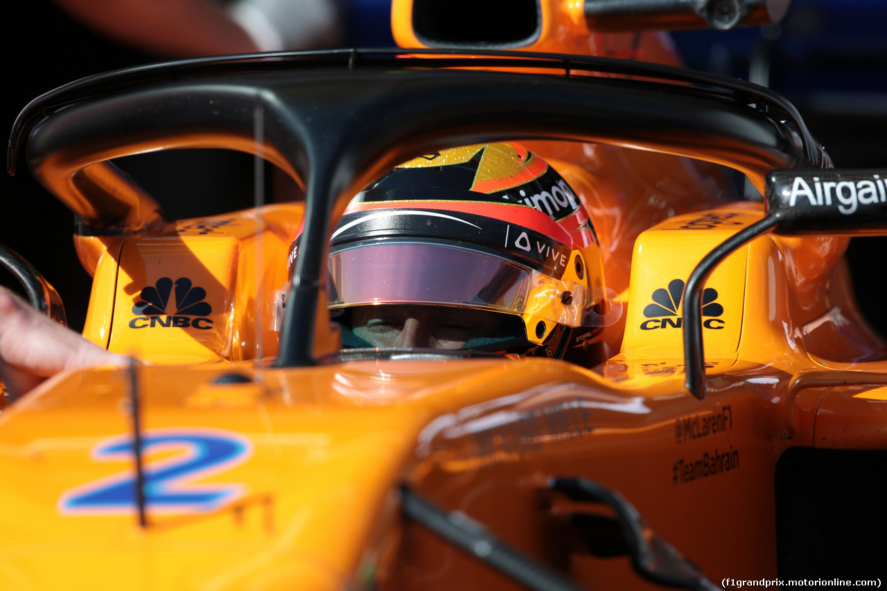 GP FRANCIA, 22.06.2018- Prove Libere 2, Stoffel Vandoorne (BEL) McLaren MCL33